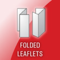 Leaflets printing and finishing service. Various sizes, paper and folding types available.